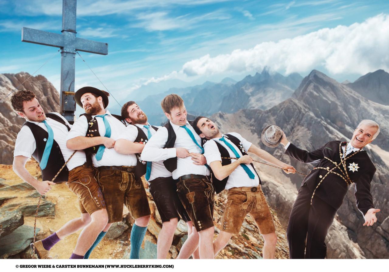 Wolfgang Krebs und Die Bayerischen Löwen rufen zum Gaudigipfel 2020